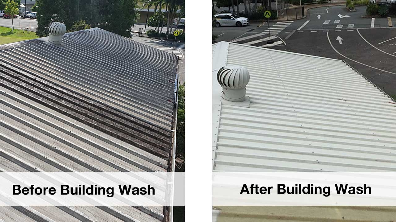 Sunshine Coast Gutter Cleaning Projects Photos