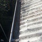 Gutter cleaning after Caloundra