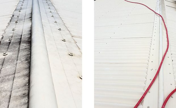 roof surface softwash