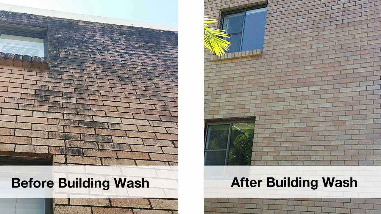 Building wash services